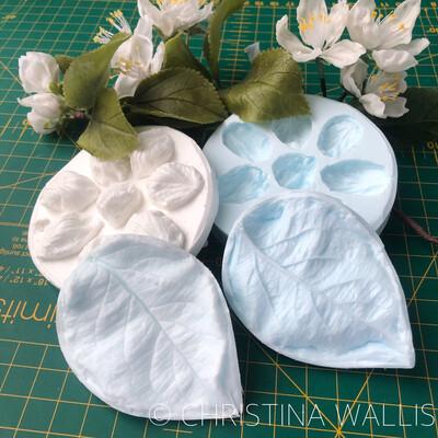 Apple Blossom & Apple Leaf VEINER Bundle
