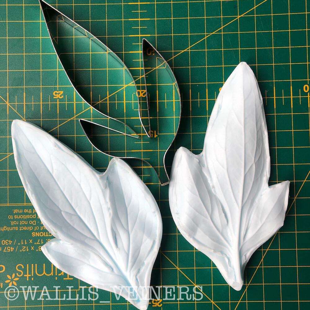 PEONY Leaf Veiner + Cutter ( Optional )