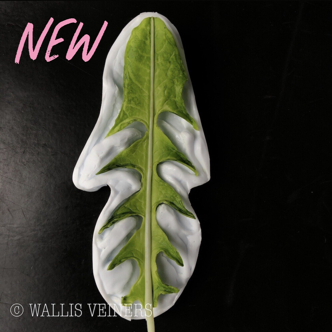 Dandelion Leaf Veiner, Small, NO Cutter