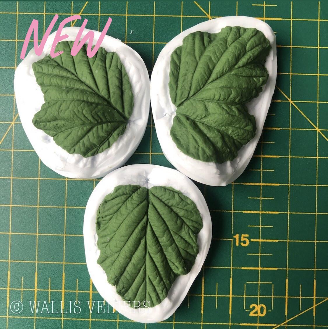 BLACKBERRY Leaf Veiner Set of 3 + Cutters ( Optional )