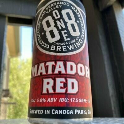 8ONE8 Matador Red