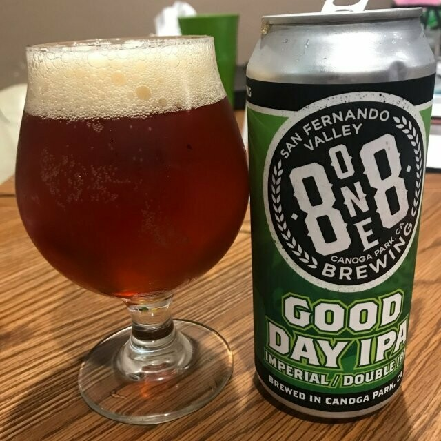 8one8 Brewing Good Day IPA