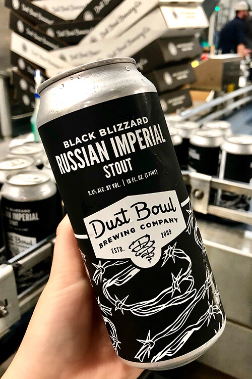Dust Bowl Black Blizzard