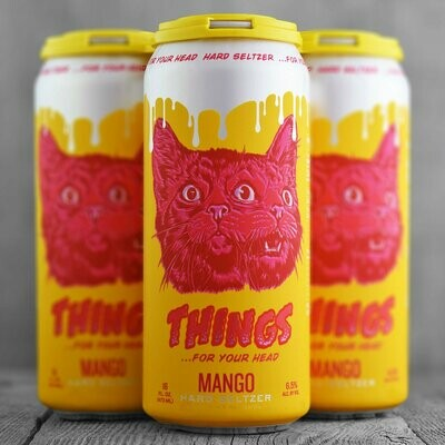Brouwerij West Things For Your Head Seltzer (Mango)