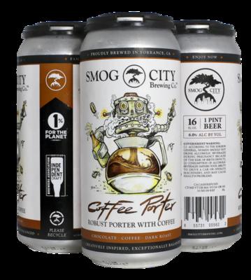 Smog City Coffee Porter