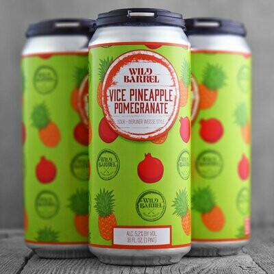 Wild Barrel Vice Pineapple Pomegranate