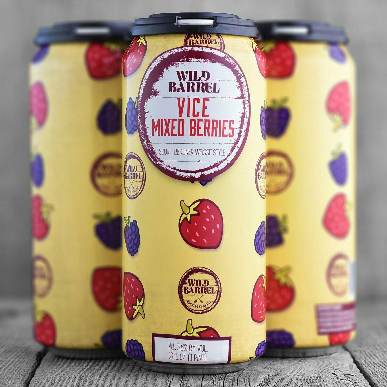 Wild Barrel Vice Mixed Berries