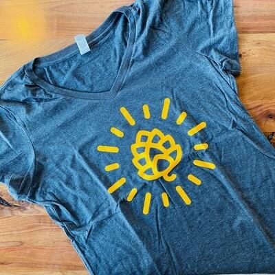 T-shirt- HOP CONE WOMEN (Large)