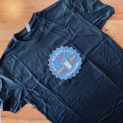 T-Shirt- BLACK LOGO MEN (Medium)