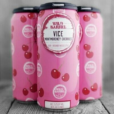 Wild Barrel Vice Montmorency Cherries