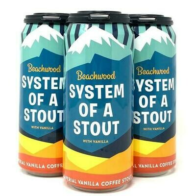 Beachwood System Of A Stout w/ Vanilla