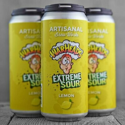 Artisanal Brew Works Warheads (Lemon)