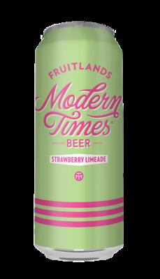 Modern Times Fruitlands Strawberry Limeade