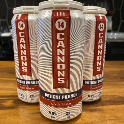 14 Cannons Patient Pilsner