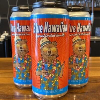 Wild Barrel Blue Hawaiian