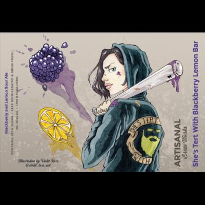 Artisanal She's Tert w/ Blackberry Lemon Bar