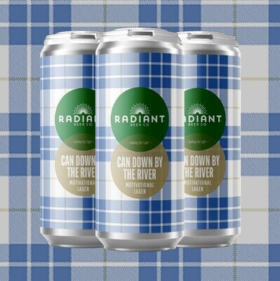 Radiant Beer Co. Can Down By The River