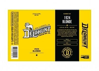 Delahunt 1924 Blonde Ale