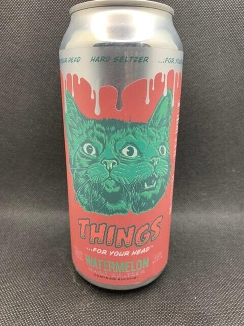 Things For Your Head Seltzer (Watermelon)