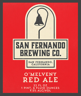 San Fernando Brewing O'Melvany Red
