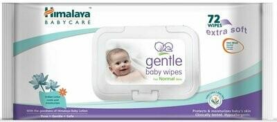 Himalaya Baby Wipes Gentle 72N