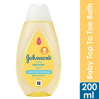 Johnson Baby Top To Toe Bath 200ml
