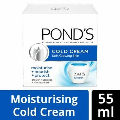Ponds Cold Cream Soft Glowing Skin 55ml