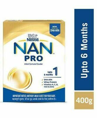 Nestle Nan Pro 1 Baby Milk 400g