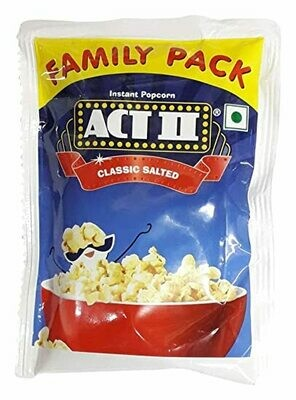 Act II Classic Salted Family Pack 120g