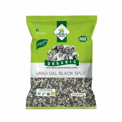 Organic Urad Black Split 24 Mantra 500g