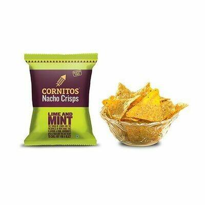 Cornitos Nacho Crisps Lime and Mint 60g