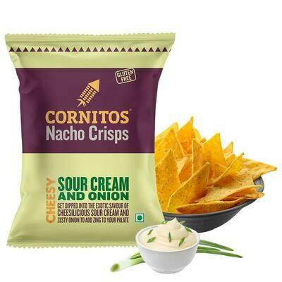 Cornitos Nacho Crisps Sour Cream and onion 60g