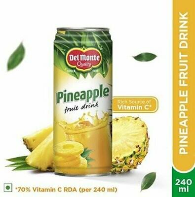 Delmonte Pineapple Fruit Drink 240ml