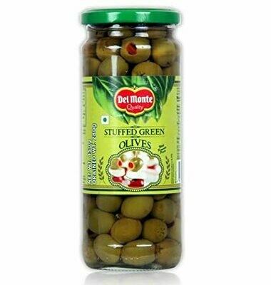 Delmonte Stuffed Green Olives 450g