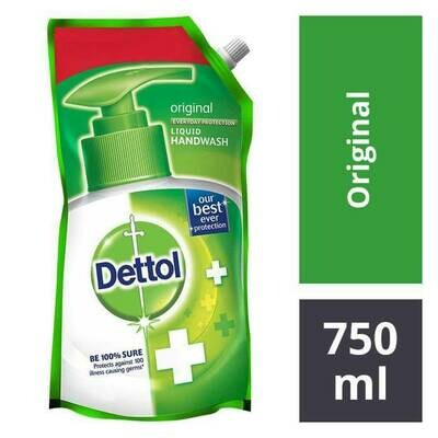 Dettol Original Liquid Handwash Refill Pack 750ml