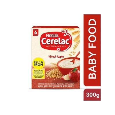 Nestle Cerelac Wheat Apple Stage-1 300g