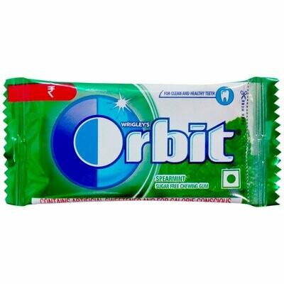 Orbit Sugar Free Spearmint Flavour 4.4g