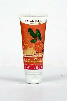Patanjali Orange Honey Face Wash 60g