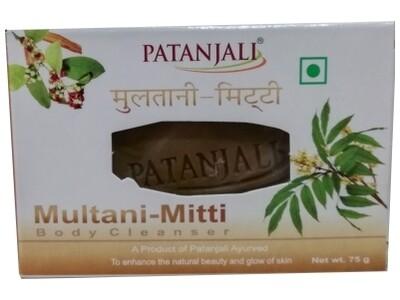 Patanjali Multani Mitti Body Cleanser 75g