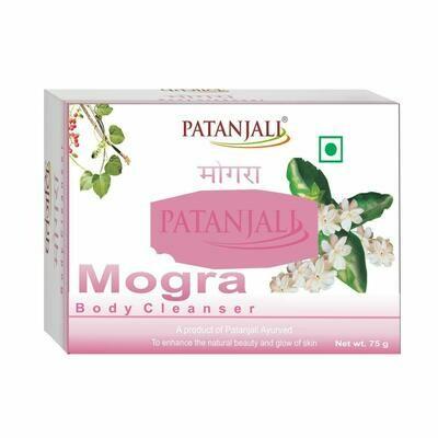 Patanjali Mogra Body Cleanser 75g