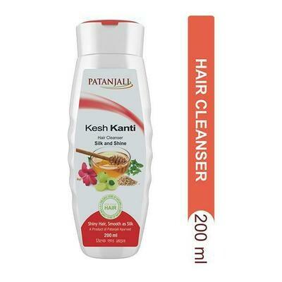 Patanjali Kesh Kanti Silk & Shine Hair Cleanser 200ml
