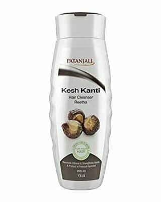 Patanjali Kesh Kanti Reetha Hair Cleanser 200ml