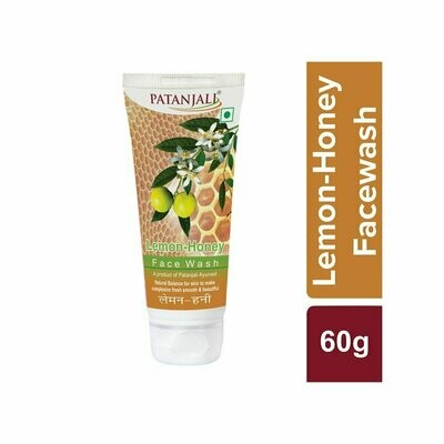 Patanjali Lemon Honey Face Wash 60g