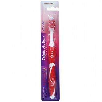 Patanjali Triple Action Soft Toothbrush