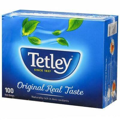 Tetley Original Tea Bags 100Unit