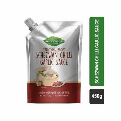 Wingreens Schezwan Chilli Garlic Sauce 450g