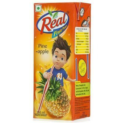 Dabur Real Pine Apple Juice 180ml