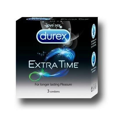 Durex Extra Time Condoms 3Unit