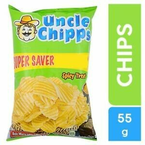Uncle Chipps Spicy Treat 55g