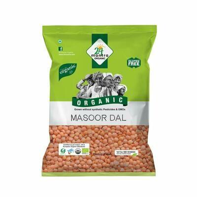 Organic Masoor Dal 24 Mantra 500g